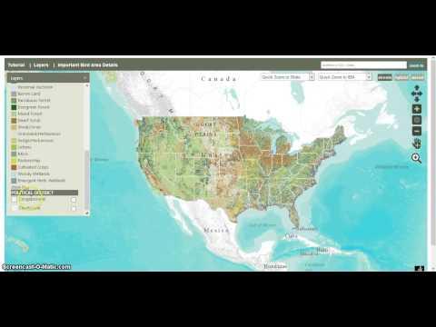 National Audubon IBA Map Tutorial