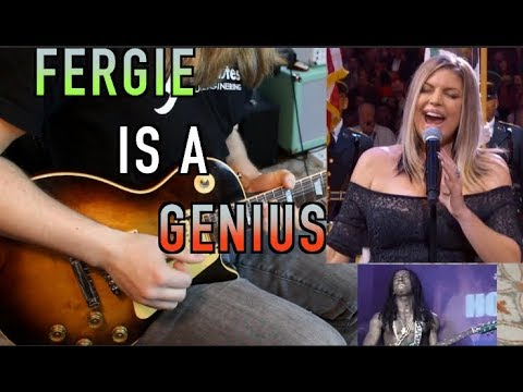 Fergie's National Anthem Breakdown ( Advanced Music Theory)