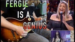 Fergie's National Anthem Breakdown ( Advanced Music Theory)