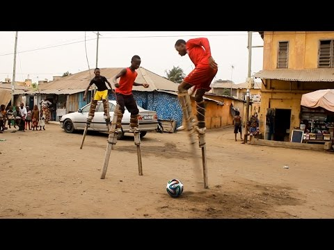 THE MOST IMPOSSIBLE WAY TO PLAY FOOTBALL !!!