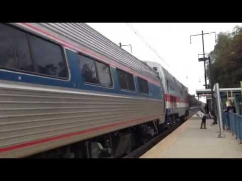 Amtrak veterans P42DC pulling Pennsylvanian train #42