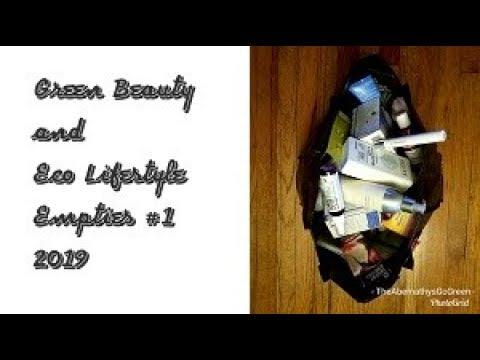 green-beauty-&-eco-lifestyle-empties-#1- -2019