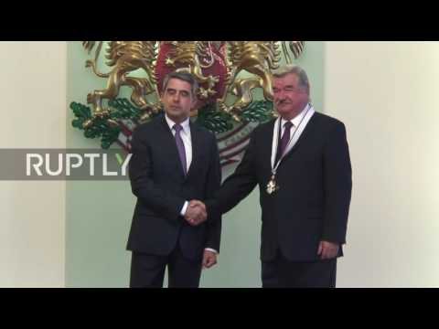 Bulgaria: Pres. Plevneliev awards Russian ambassador with highest state award