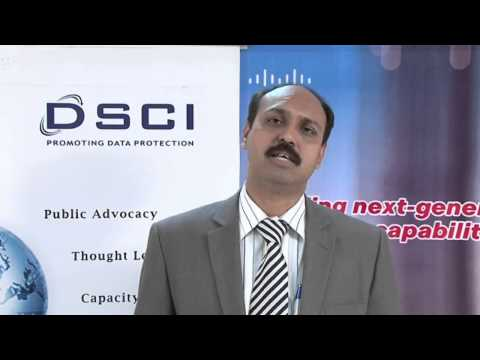 Sameer Ratolikar speaking on DSCI-Cisco Security Thought Leadership Program