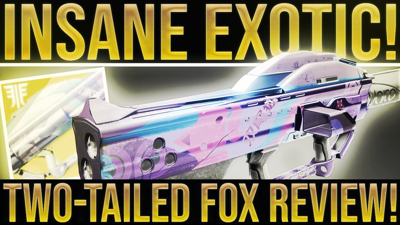 Destiny 2 Insane Exotic Two Tailed Fox Exotic Rocket Launcher Review Gjallarhorn 2 0 How To Get Youtube
