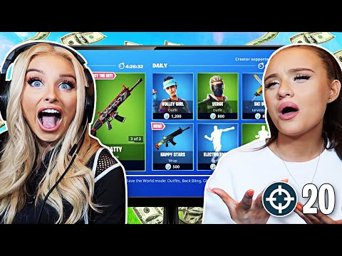 Every Time I Die My Little Sister BUYS Something From The ITEM SHOP! (FORTNITE)