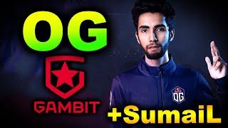 OG vs AS Moฑaco Gambit - SUMAIL IS BACK! - ESL ONE SUMMER 2021 DOTA 2