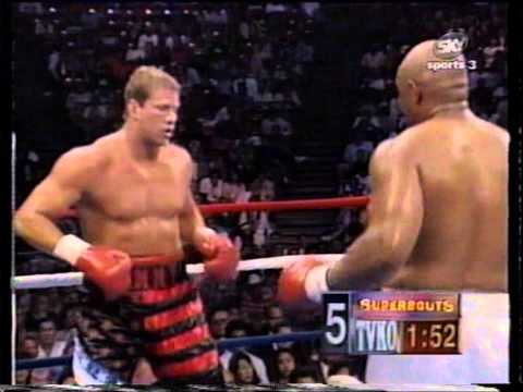 "Tommy ""The Duke"" Morrison VS ""Big"" George Foreman - Part 1/2"