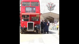 RTW London Bus Route 9 cart marked  by Lord Mayor of London