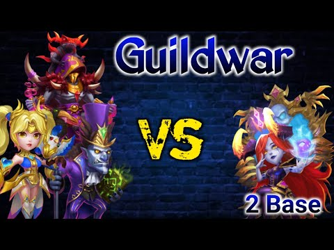 Guildwar Vs Bloody Mary (No.1 Guild) | 2 Bases Only | Dove Killer For Sure | Castle Clash
