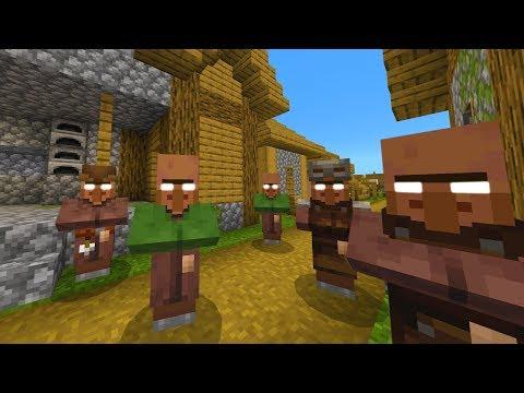 Do not go to this Minecraft village..