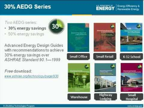 AEDG for Small to Medium Office Buildings