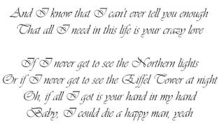 Thomas Rhett-Die A Happy Man Lyrics