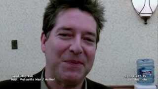 Spacefest IV Geoff Notkin, Meteorite Men: On Aerolite Meteorites, Henbury Meteorite and Spacefest