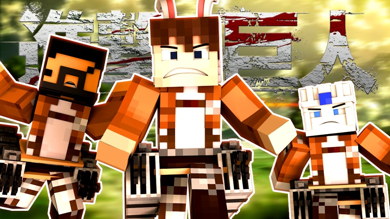 Attack on Titan the Movie 🐰 (Minecraft Roleplay) - YouTube