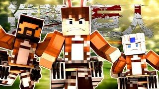 Attack on Titan the Movie 🐰 (Minecraft Roleplay)