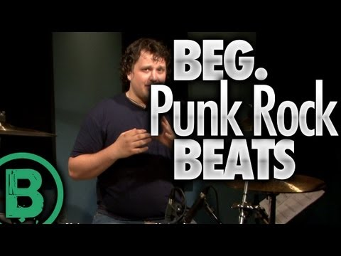 Beginner Punk Rock Drum Beats