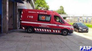 Compilation of portuguese emergency vehicles (INEM, Polícia, Bombeiros, Ambulância) #1