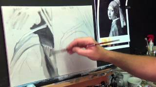 HOW TO PAINT FOLDS IN MATERIAL #1 ,Acrylic painting for beginners, #clive5art