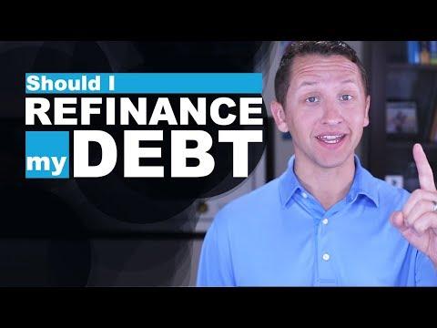 "<span class=""title"">Should I REFINANCE my DEBT?</span>"