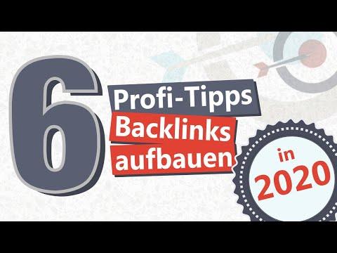Backlinks aufbauen in 2020 - 6 Tipps für bessere Rankings!