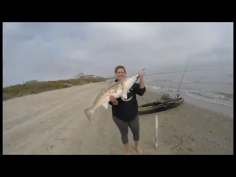 Surf Fishing Crystal Beach For Bull Reds