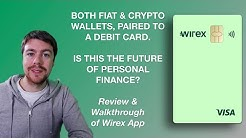 Wirex - the future of Borderless Fiat & Crypto Finance Accounts? User Review of 🇪🇺 Debit Card