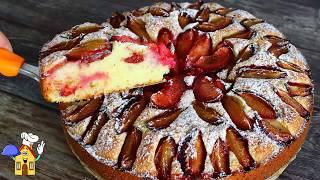 Нереально вкусный, Быстрый Пирог к чаю! 10 минут и готово!