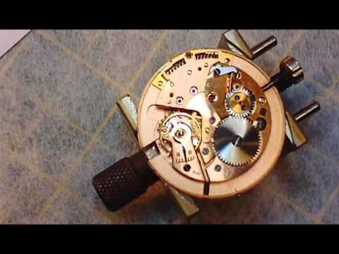Omega Seamaster Watch Repair Cal. 344 Bumper Automatic