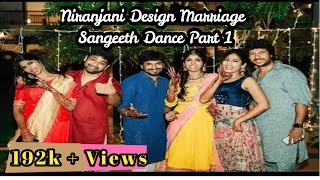 Niranjani Design Periyasamy Marriage Sangeeth Dance  Part 1/ kani viji  Niranjani wedding Dance