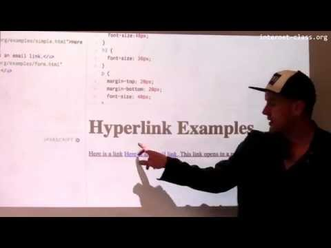 What is a hyperlink?