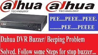 Dahua DVR Beeping Problem Solved! Disable Hard Disc Alarm (Dahua Part-3)