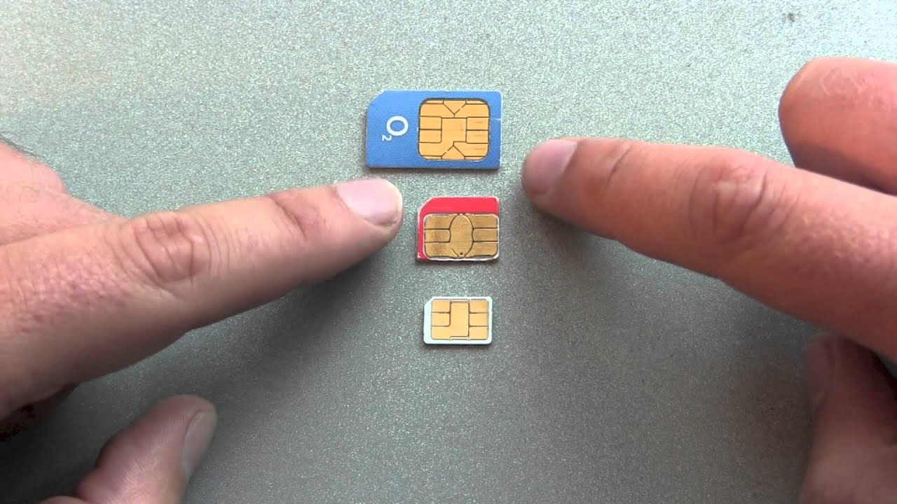 Nano SIM vs Micro SIM vs Normal SIM card parison YouTube