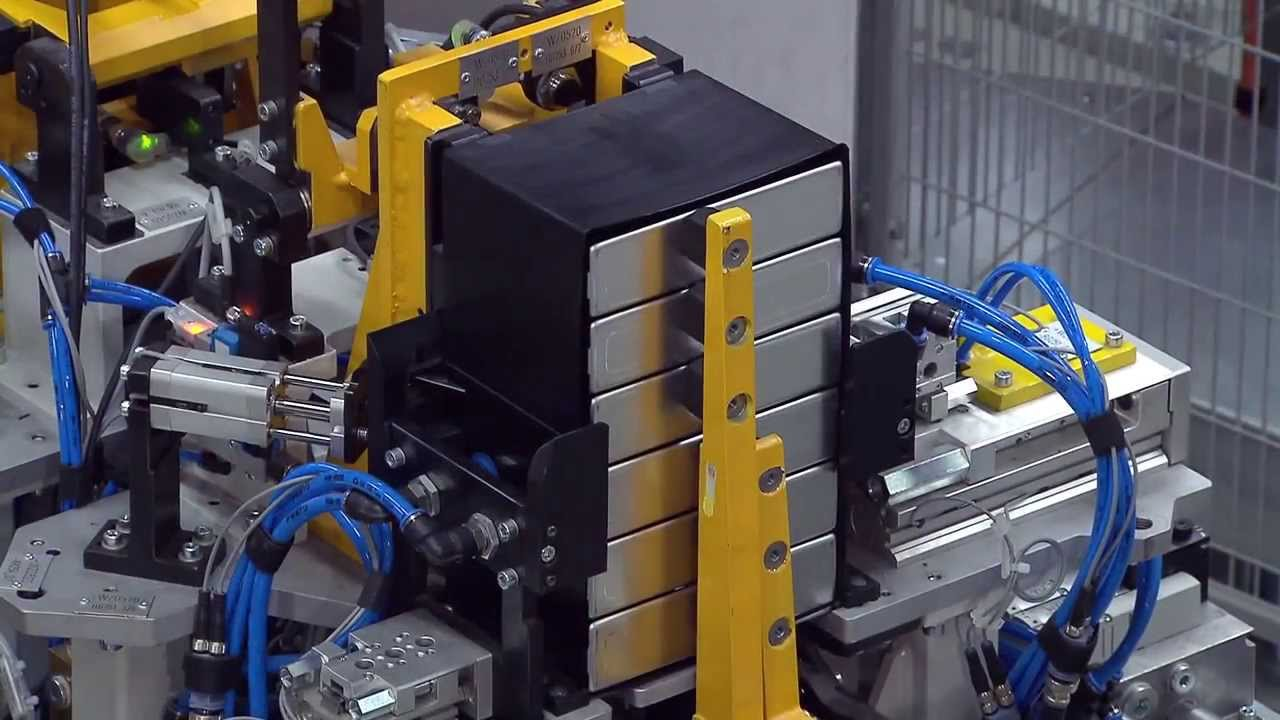 Bmw I3 Production High Voltage Battery Module