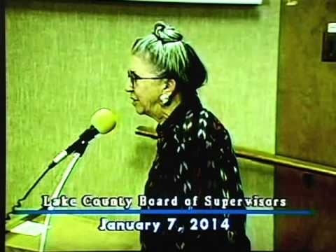 CLAC Elimination: Lake County BOS 1-7-2014 Excerpt