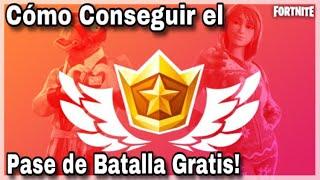 Cómo Conseguir el *PASE DE BATALLA* GRATIS! de la Temporada 8 | Fortnite Battle Royale