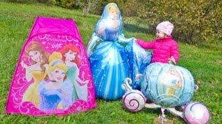 Карета и Золушка новые Мультики для детей про принцесс дисней Видео для девочек Princess Cinderella