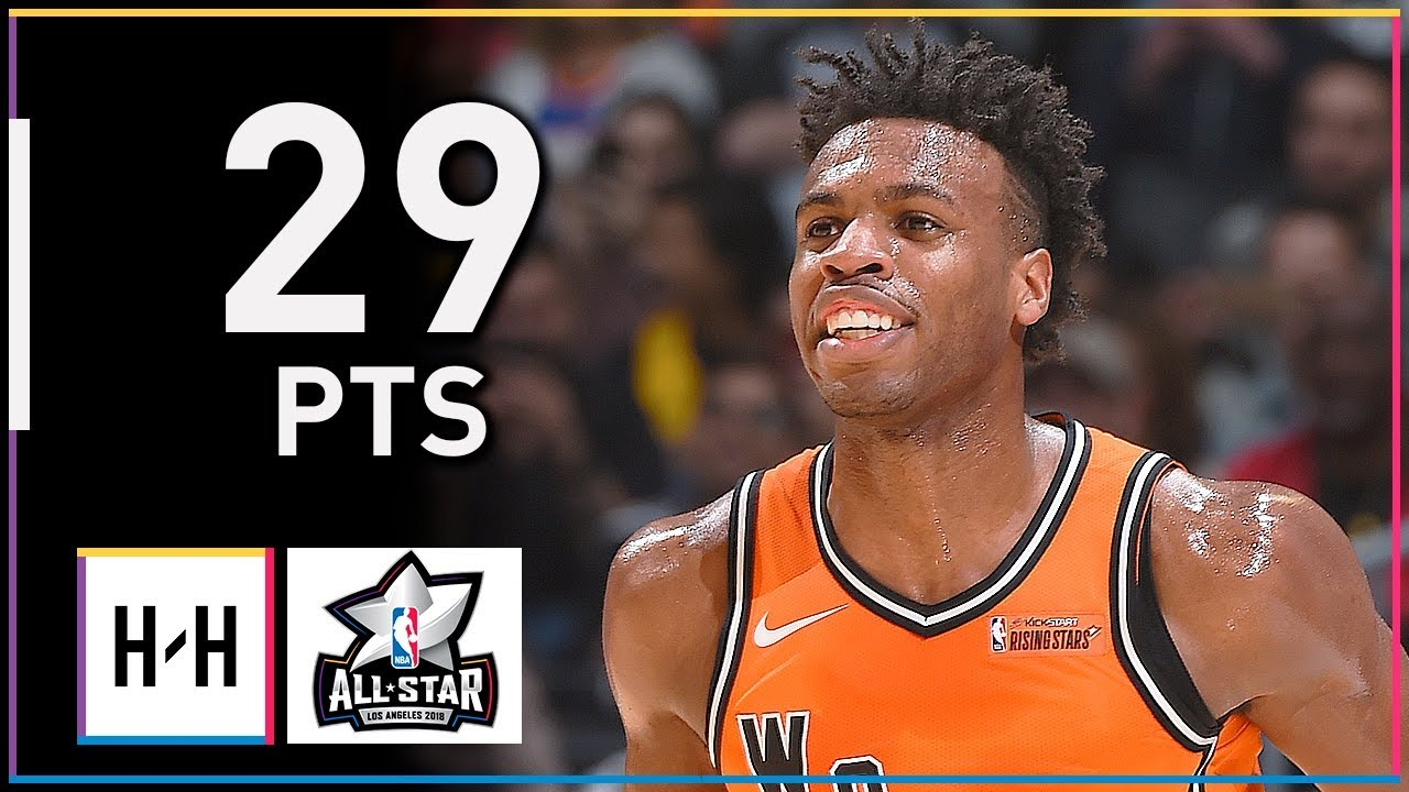 buddy-hield-full-highlights-at-2018-rising-stars-game-29-points-smooth