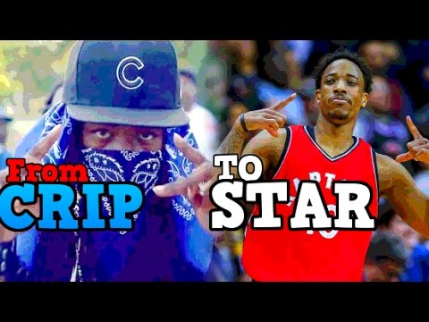 7c34bf77125c From CRIPS to NBA STAR  The Story of DeMar DeRozan - YouTube