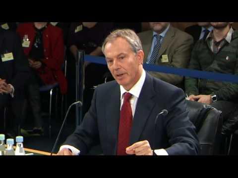 Iraq Inquiry: Tony Blair gives evidence