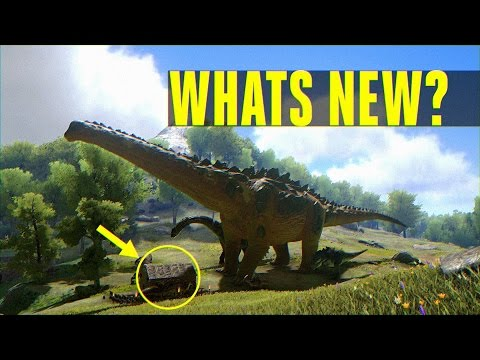 Whats new with Ark? Update 243: Primal Survival, Redwood Biome, Titanosaur, Official Mods & More!