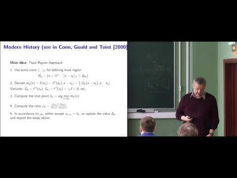 Modern Algorithmic Optimization - lec.4