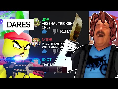 ROBLOX DARES 2 (funny moments)