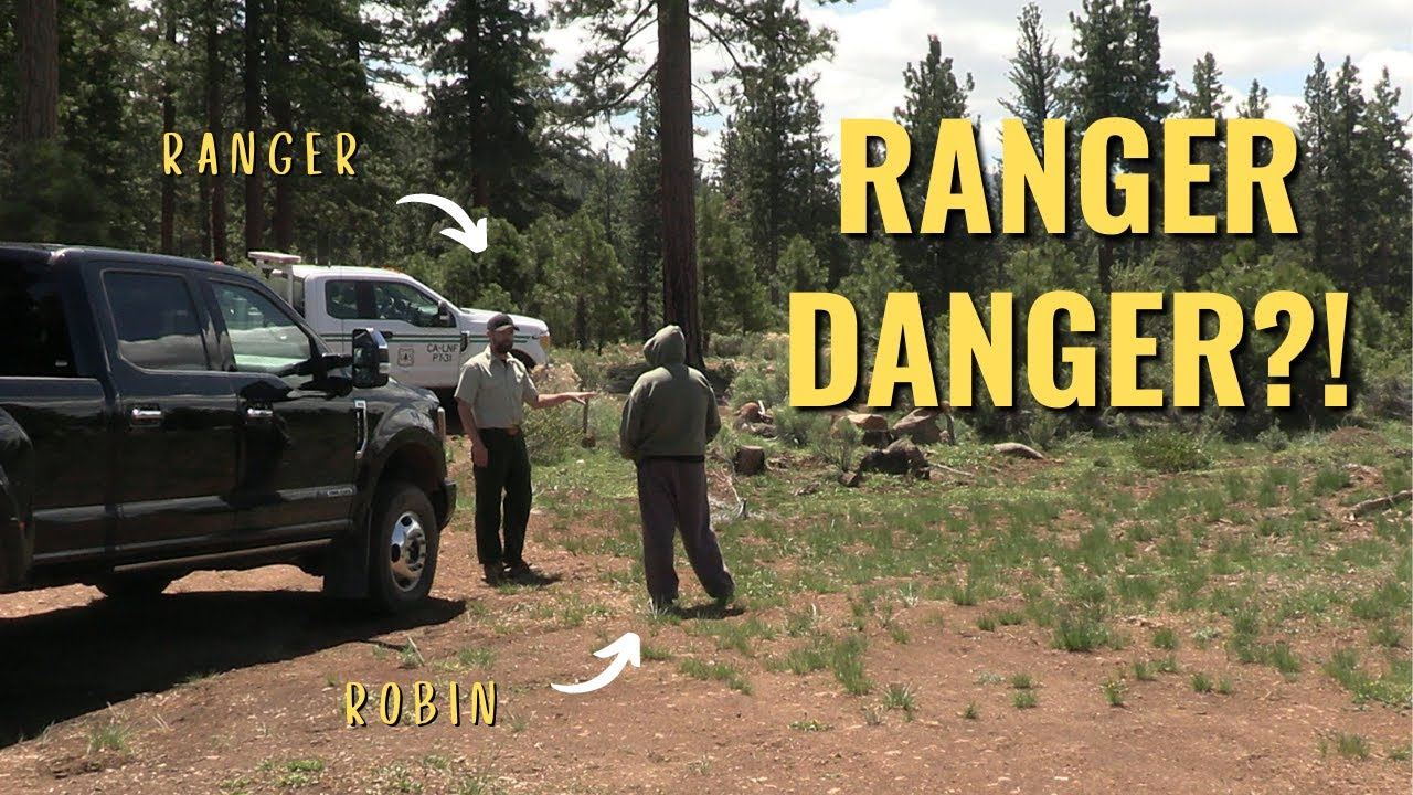 RANGER DANGER While BOONDOCKING? We Go SUBTERANEAN, Find Two ANGELS & take a FALL. RV Travels Ep. 3!