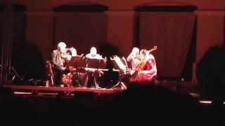 Last kind words (Geeshie Wiley) - Kronos Quartet live @Moni Lazariston 12-9-2014