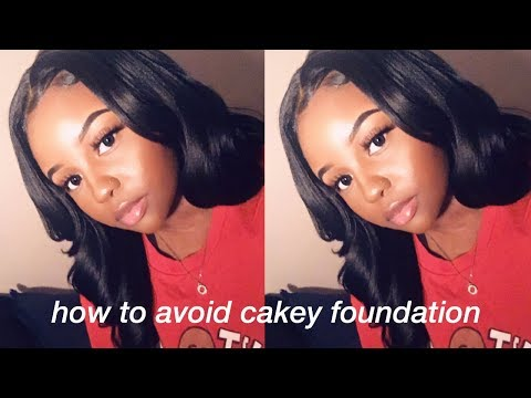How To Avoid Cakey Foundation | New Foundation Technique + Tips!