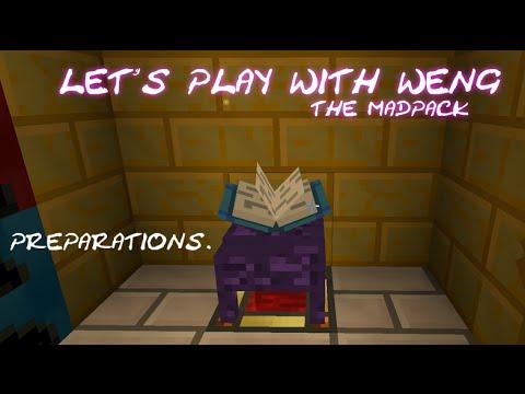 MineCraft   MadPack   E28   Preperations