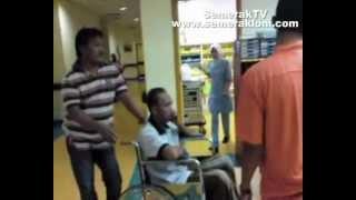 YB Wan Hassan Wan Ibrahim di Hospital Pusrawi Kuala Lumpur (6 Oktober 2012)