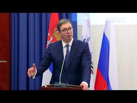 (рус) Президент Сербии А.Вучич — Почетный доктор МГИМО