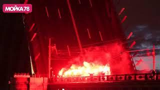 Поющие мосты. Световое шоу 2019. День города Санкт-Петербург